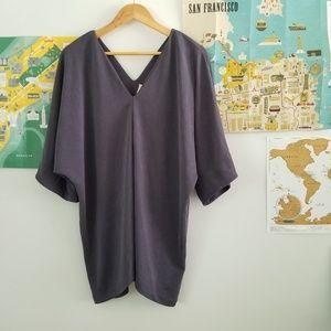 h&m • v neck tunic •